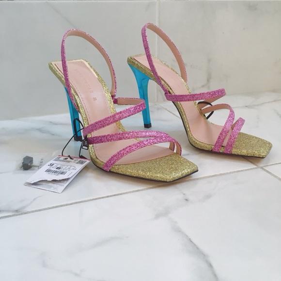 really comfortable san francisco top quality Zara Shoes | Shiny Multistrap Sandals | Poshmark